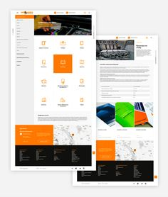 Salamandra - Corporate Site on Behance