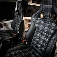"Traditional ""Lux"" Conversions - New Wave Custom Conversions T5 Bus, Vw T5, Volkswagen Transporter, Vw Camper Conversions, Camper Van Conversion Diy, Campervan Interior, Truck Interior, Mazda 6, Car Interior Upholstery"
