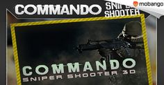 Commando Sniper Shooter 3D - Prove your shooting skill with this exciting First person shooter stealth game, Install on your #Android now: bit.ly/Mobango_CommandoSniperShooter