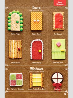 Gingerbread doors