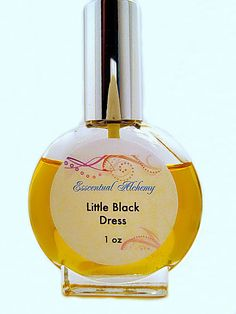 Little Black Dress All Natural Perfume, is for a strong, sensual woman. A woody, floral fragrance reminiscent of Audrey Hepburn in Breakfast at Tiffany's. A perfume to empower you!
