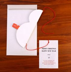 Snowman Hanging Card