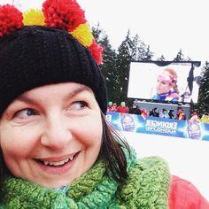 #Gabriela und ich. #biathlon in #ruhpolding2017