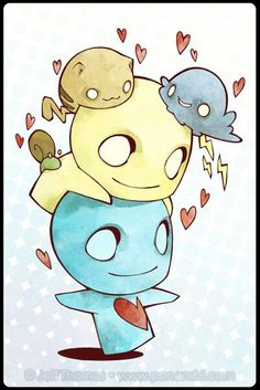 Pon and Zi me and you and our pets