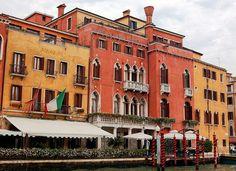 Prinoipe Hotel on the Grand Canal near Piazza Roma, Venezia