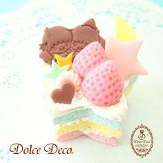 (4) 【2014】【KIKI&LALA x Dolce Deco】 Workshop ★Little Twin Stars★ | Cute & Sweet ❤❤❤ | Pinterest