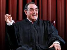 The Wattree Chronicle: JUSTICE ANTONIN SCALIA - IDIOT IN A ROB