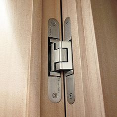 Simonswerk Tectus concealed hinges are easily adjustable in 3-dimensions, with new models having enhanced vertical adjustment.
