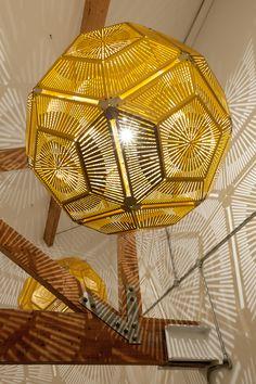 Ball Lighting I Hängeleuchte I Lasertechnik Trumpf I Deckenlampe I Riesenleuchte I Lighting by Tom Dixon