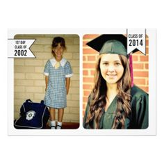 Graduation Class of 2014 Party Invite Photo Card