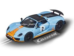Carrera 1/32 Porsche 918 Spyder Slot Car - CA27549 - £36.99