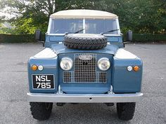 land rover series 2 1960