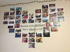 colgem na parede com fotos