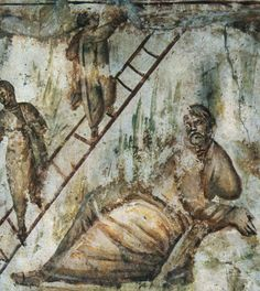 Jacob's Ladder in Catacomb Via Latina