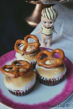 Los Chatos Chefs: Pretzels Crown in a S´more Bundt Cake