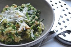 Perfecte Quinoa met Zalm en Pesto