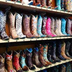Country boots.