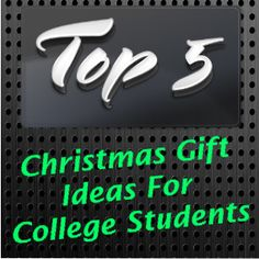 Christmas Gift Ideas For College Students Gifts Student