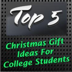 College kid christmas gift ideas