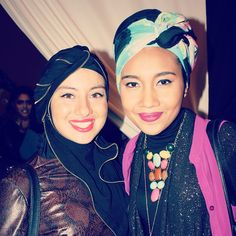 Got to meet the very beautiful and talented @Yuna Zarai , she is definitely  MashAllah Swaggin  (at Fashion Fighting Famine Show)