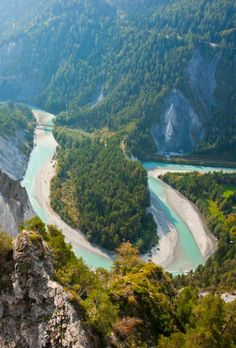 Rein River gorge ~ Switzerland by Eva0707