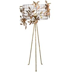 Cooley Floor Lamp ($785) ❤ liked on Polyvore featuring home, lighting, floor lamps, incandescent lights, tripod floor lamp, handmade lamps, incandescent lamp and tripod lights