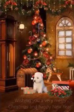 I wish you a Merry Christmas and a prosperous New Year. I wish you a Merry Christmas and a prosperous New Year. Animated Christmas Tree, Merry Christmas Gif, Christmas Scenery, Christmas House Lights, Merry Christmas And Happy New Year, Christmas Music, Christmas Love, Christmas Greetings, Marry Christmas Card