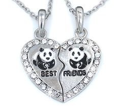 For me and my bff Bff Bracelets, Bff Necklaces, Best Friend Necklaces, Diamond Cross Necklaces, Best Friend Jewelry, Cute Necklace, Necklace Charm, Pendant Necklace, Bff Gifts
