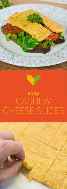 I've been meaning to try this for ages! Now I eventually found an easy way to make healthy sliceable cheese made with cashew nuts. It's full of goodness and not as fatty as the coconut and starch based ones.