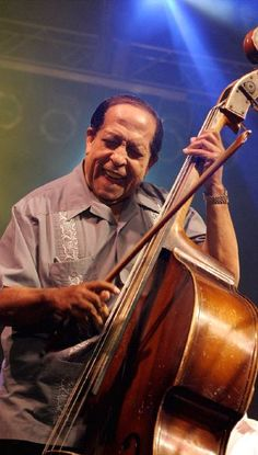 "Israel ""Cachao"" López, Sept. 14, 1918 – March 22, 2008), often known as Cachao, was a Cuban musician and composer who helped popularize mambo in the United States in the early 1950s. He has a star on the Hollywood Walk of Fame, won several Grammy Awards, and has been described as ""the inventor of the mambo"". He is considered a master of descarga (Latin jam sessions)."