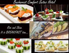 Rise and Shine. it is Breakfast time! Bucharest, Breakfast Time, Hotel Offers, Ethnic Recipes, Food, Essen, Meals, Yemek, Eten