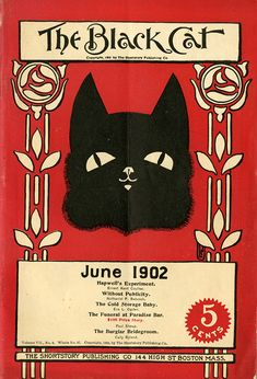 The Black Cat 1902 Adverts.