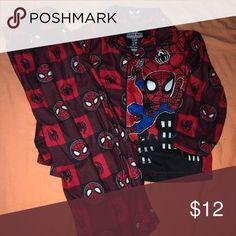 Spiderman PyjamasMens Sider Man PJsMarvel Spiderman Avengers Pyjama Set