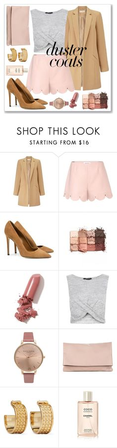"""Untitled #222"" by chulipatin ❤ liked on Polyvore featuring Miss Selfridge, Valentino, SUNO New York, tarte, LAQA & Co., New Look, Olivia Burton, Sole Society and Loewe"