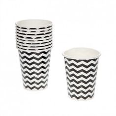 Chevron Paper Cups | Paper Products Online