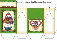 Snowman pinch bag 2 on Craftsuprint designed by Stephen Poore -