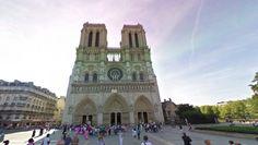 Catedral de Notre Dame (Francia): es reconocida como un escenario histórico donde ocurrieron diversos eventos importantes como la coronación de Napoleón en 1804. Foto: Google Street View