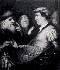 The Sense Of Sight - Rembrandt
