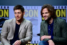 Jared and Jensen at SDCC 2017