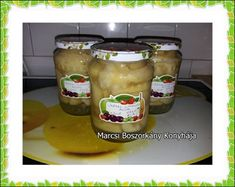 Marcsi Boszorkány Konyhája: Körtebefőtt másképp - mézzel és citrommal