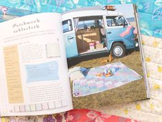 Patchwork table cloth handmade glamping