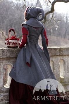 Red Riding Hood #woolen #coat