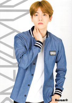 Baekhyun - 151005 Official EXO-L Japan Book Vol.2 - [SCAN][HQ] Credit: Baram.