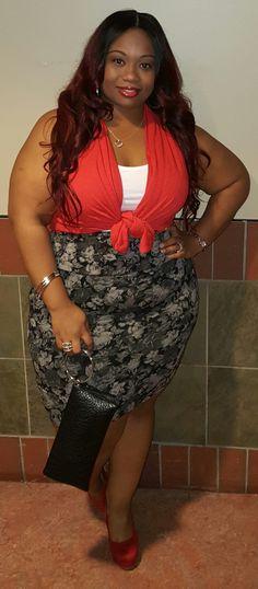 Tiffany, 32, Florida Top: Target Skirt: Torrid Shoes: Rue 21 Facebook: Tiffany Ashley Instagram: sonodiva83