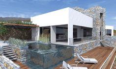 Por Vaccarezza Tenesini & Angelone Arquitectos. Podés ver más de esta #obra y este #estudio googleando: c-0007-2-1-015. #arquitectosargentinos #houses #diseño #architecture #casas #design #construccion #arquitectura homes #arquitectos