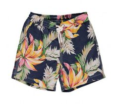 For the handsomest brands in boys' swimwear, visit Smallable: Boys' swimming trunks & swim shorts from Petit Bateau, Bonton, Sundek, Jott… Over 700 Boys Swim Trunks, Boys Swimwear, Swim Shorts, Patterned Shorts, Handsome, Menswear, Mens Fashion, Tropical Flowers, How To Wear
