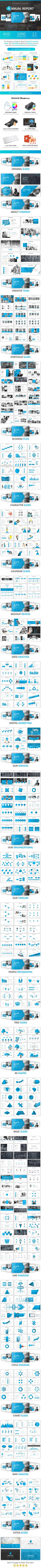 Annual Report Powerpoint - Business PowerPoint Templates