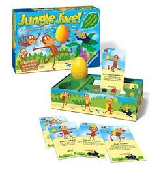 Jungle Jive keeps kids moving and balancing - it's such a fun game!