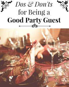 Dos & Don'ts for Being a Good Party Guest on The Best of this Life