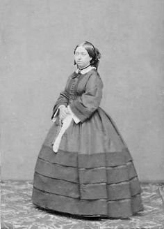 Queen Victoria    This dress reminds me of Mary Lincoln..the President's wife